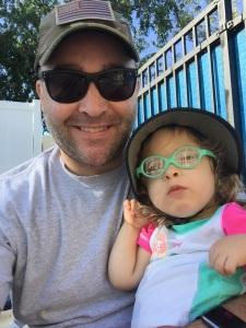 Getting ready for Aqua OT with Dad